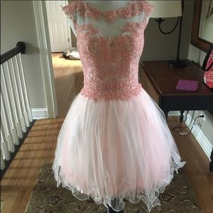 Dresses & Skirts - Pink Homecoming Dress